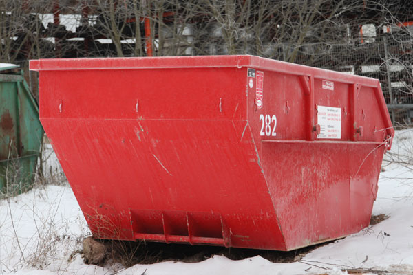 Roter Container